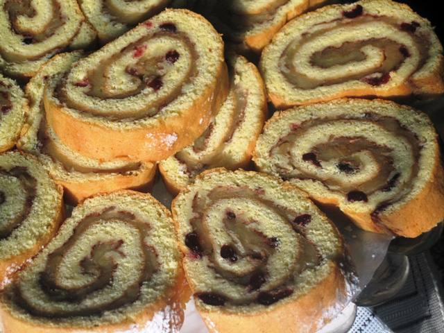 Apple-Cranberry Roll – Recipe