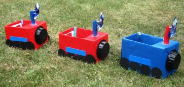 Choo-choo train ready to roll