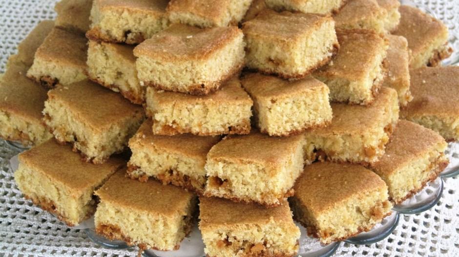 Butterscotch Blondie – Recipe
