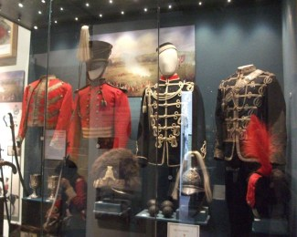 Queen's Own Worcestershire Yeomanry uniforms.