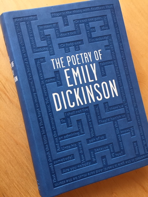 The Poetry of Emily Dickinson is on my Reading Challenge 2018 List!