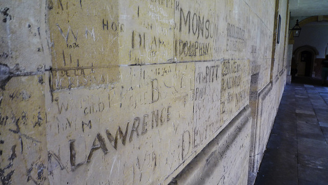 Graffiti at Eton Colleage 2