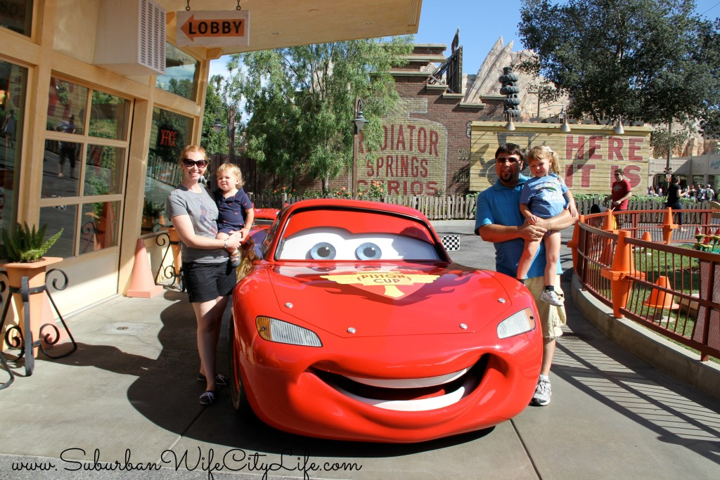Cars Land Lighting McQueen