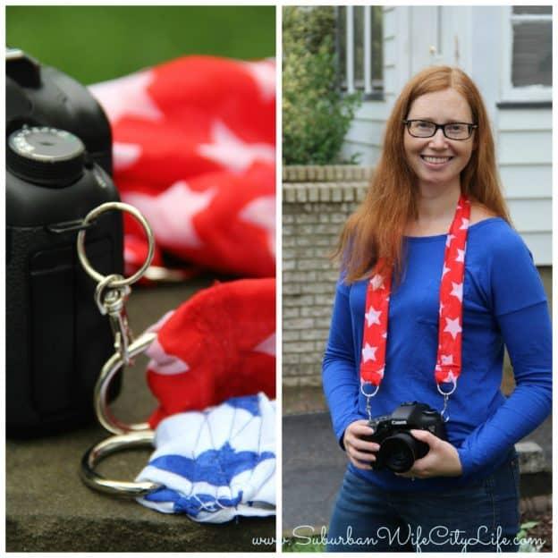 camera scarf strap