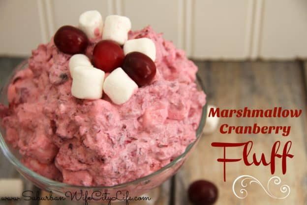 Marshmallow Cranberry Fluff
