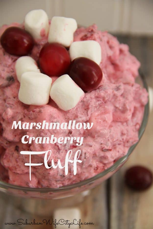 Marshmallow Cranberry Fluff Recipe