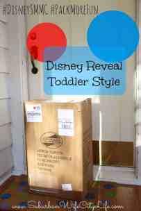 Disney reveal toddler style