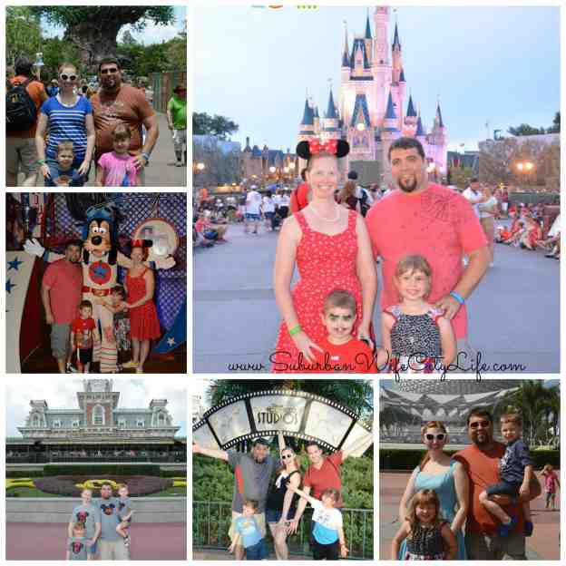 Disney Memory Maker family shots