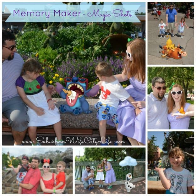 Disney Memory Maker magic shots