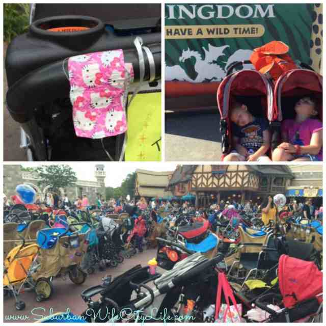 Ideas for finding your stroller at Disney