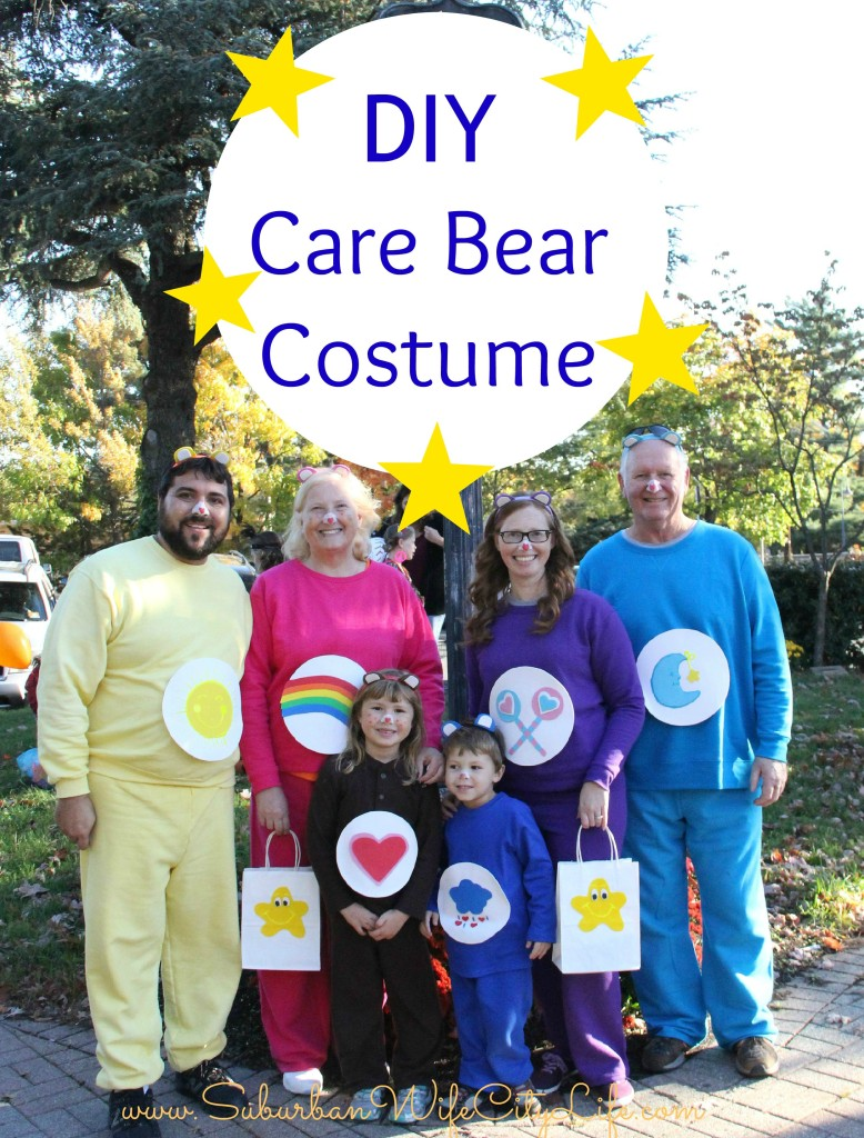 Care Bear Family Costumes