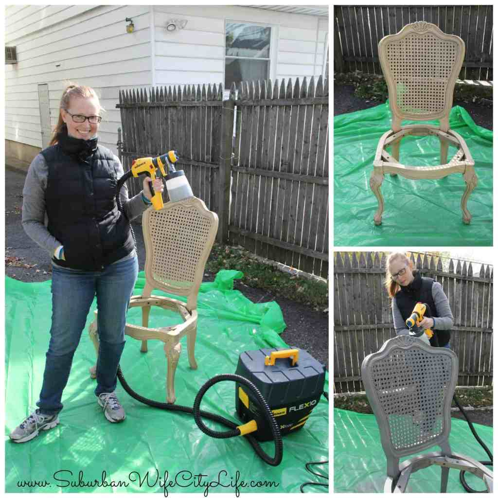 Chair Flip Wagner Paint Sprayer