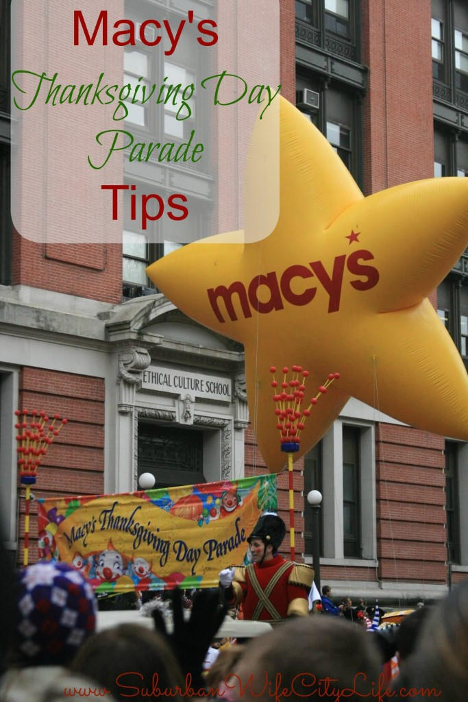 Macy's Thanksgiving Day Parade Tips