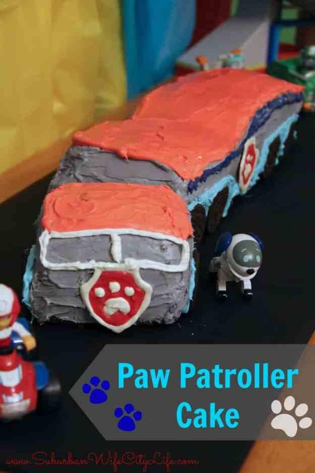 Paw Patroller Cake