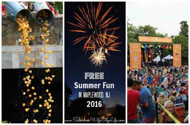 Summer Fun in Maplewood, NJ 2016