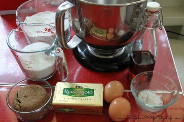 Snickerdoodle ingredients