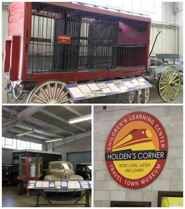Travel Town Museum Holden's Corner