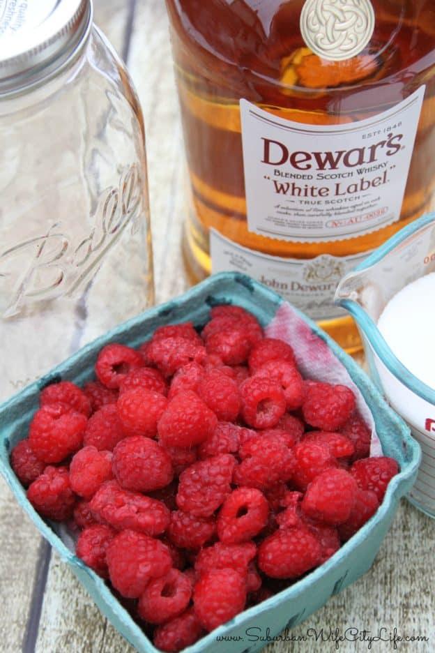 Raspberry Cordial Supplies