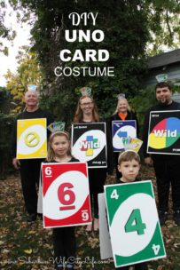 DIY UNO Card Costume