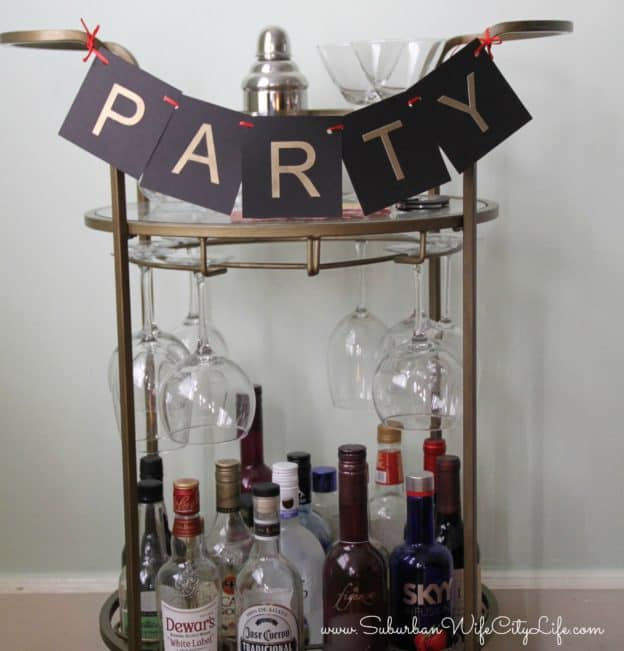 8 Ways to Style a Bar Cart