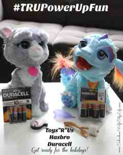 """Power Up Fun with Toys""""R""""Us, Duracell and Hasbro #TRUPowerUpFun"""