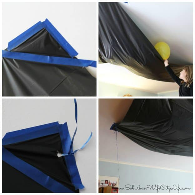DIY Balloon Drop Steps