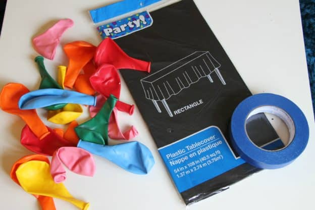 DIY Balloon Drop Supplies