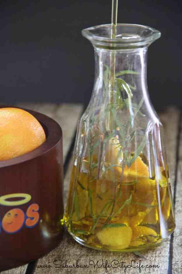 How to make Rosemary Mandarin Salad Oil