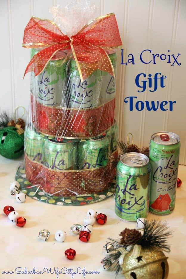 La Croix Gift Tower Tutorial