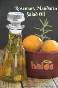 Rosemary Mandarin Salad Oil