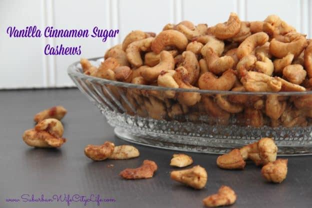 Vanilla Cinnamon Sugar Cashews