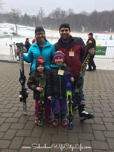 Camelback Family Skiing