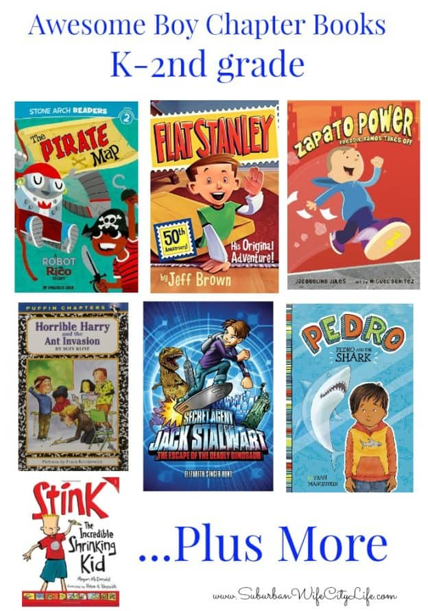 Chapter Books for K2nd Grade Suburban Wife City Life