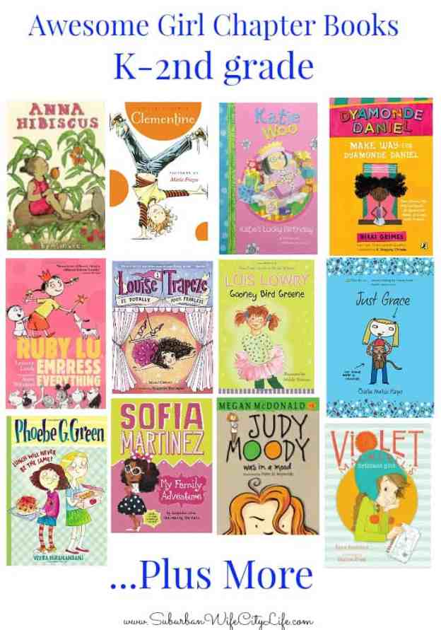 Awesome Girl chapter books