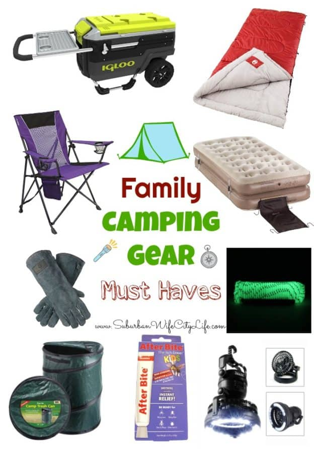 Family Camping Gear Must Haves