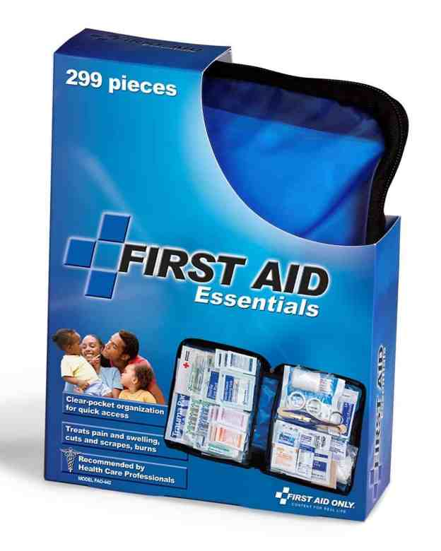 Family Camping First Aid Kit