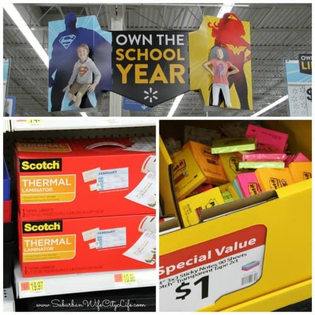 Back to School with Walmart & Scotch