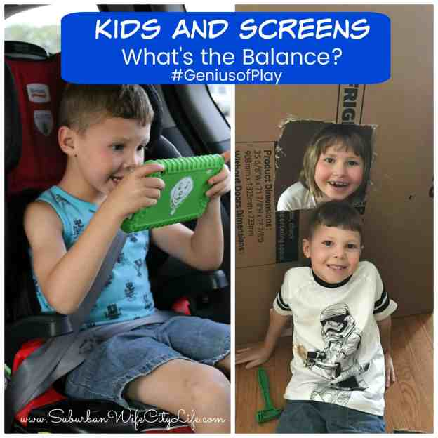 Kids and Screens What's the Balance? #GeniusofPlay