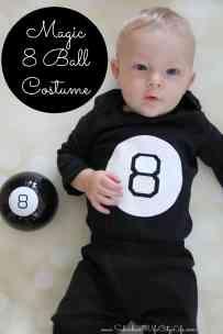 Magic 8 Ball Costume DIY