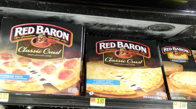 Red Baron Pizza at Walmart