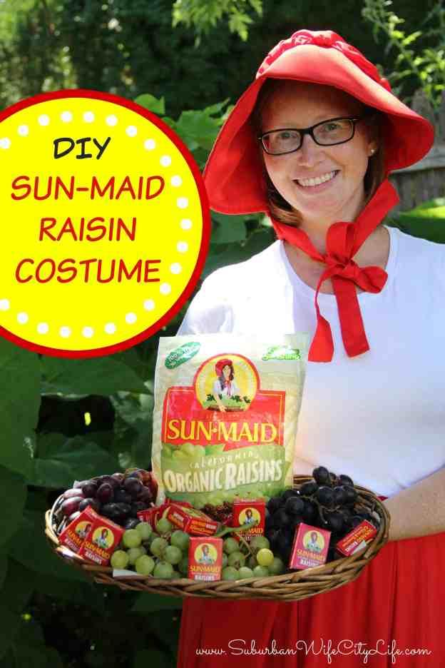 Sun Maid Raisin Costume