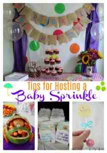 Tips for Hosting a Baby Sprinkle