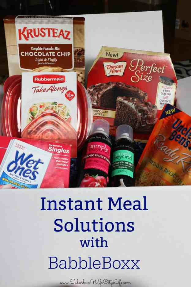 BabbleBoxx Instant Meal Solutions
