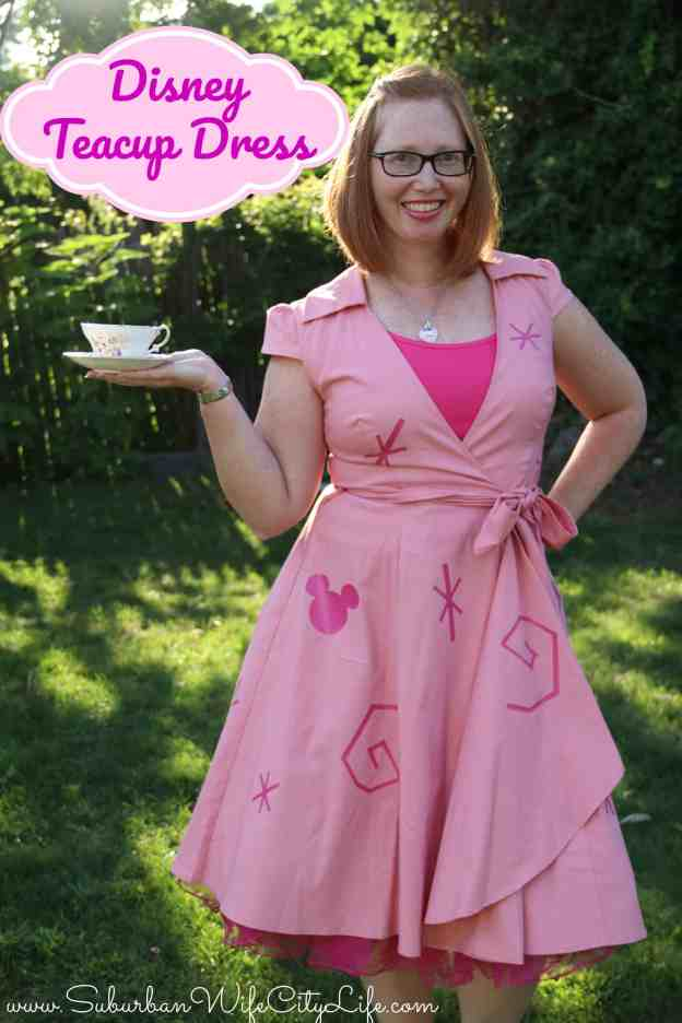 DIY Disney Teacup Dress Costume