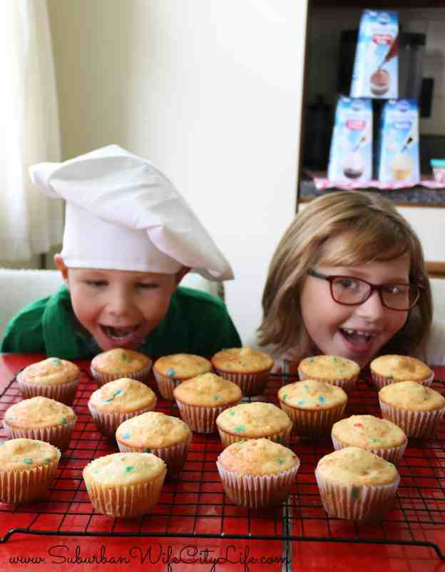 Surprise Cupcakes with kids