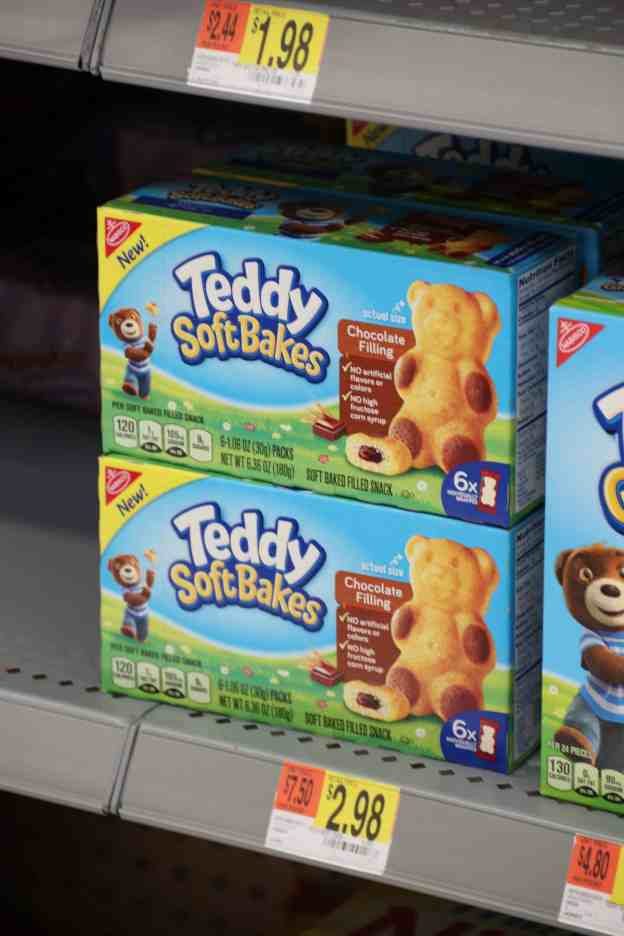 Teddy Soft Bakes at Walmart