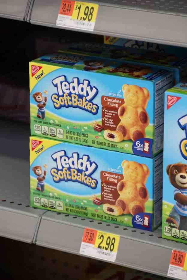 Teddy Soft Bakes at Walmart