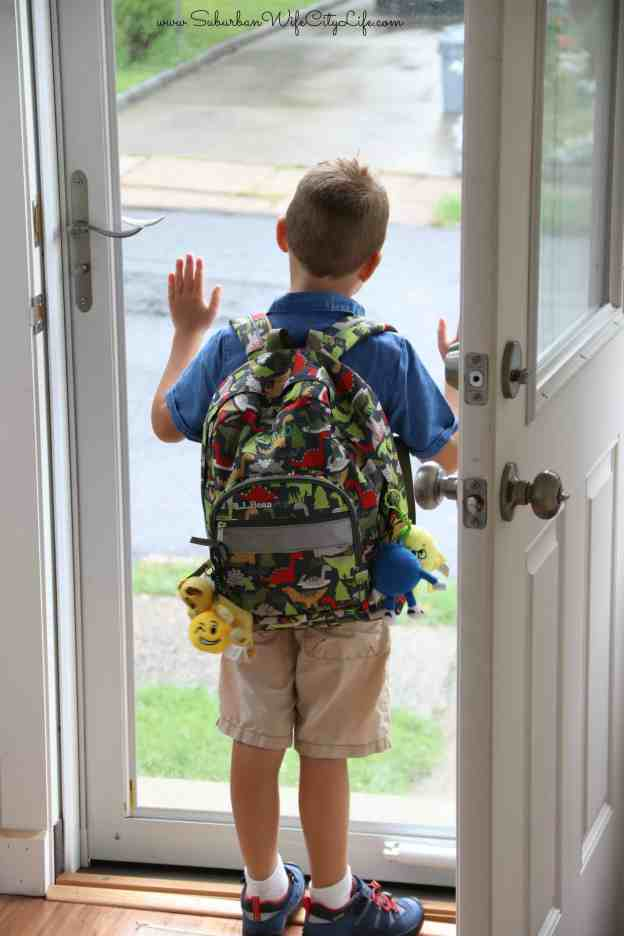 Walking out the Door to school- Keen Giveaway