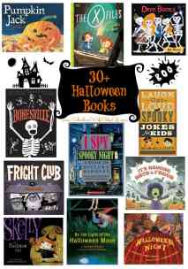 30+ Halloween Books for Kids