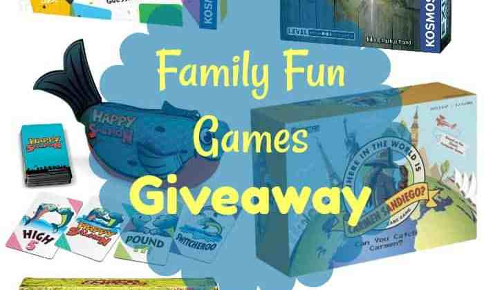 Family Fun Games Giveaway